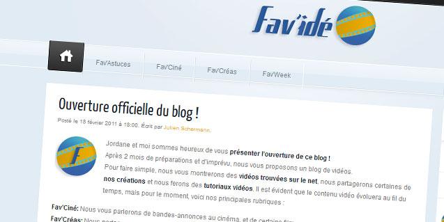 Ouverture officielle du blog !