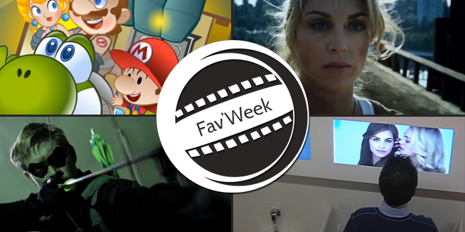 Fav'Week : The New Super Mario Busters 2,  Stage Fright,  Hybrids, Comics Concept