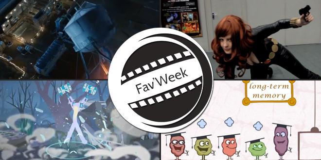 Fav'Week : Stick Figure Spotlight 3, Internet sur le cerveau, Cosplay, Effets Iron Man 3