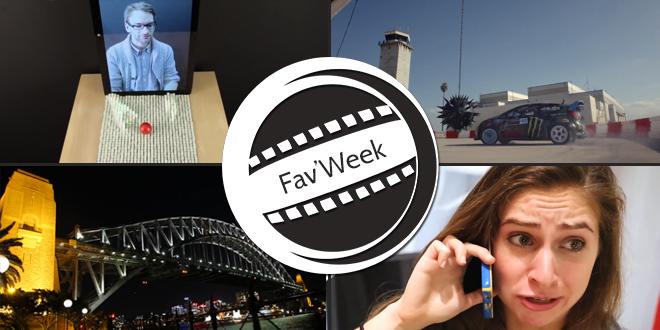 Fav'Week : IKEA, Need for Speed GYMKHANA,  inFORM technology,  Australie