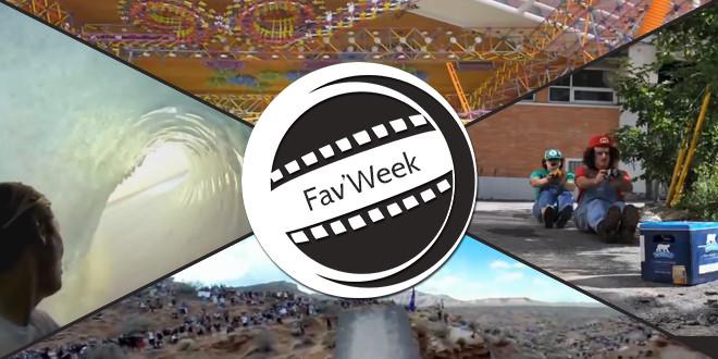 Fav'Week : Backflip Over, Mario Kart IRL, K'nex Ball Machine, Gens formidables 2013