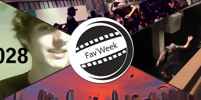Fav'Week : 3 years – lip sync, Parkour fail,  World of Dance, Sky Racers in Dubai!