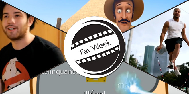 Fav'Week : Best Jump Roper, Le Fantôme de Merde, Pirater, c'est voler ?, Les Pyramides d'Égypte