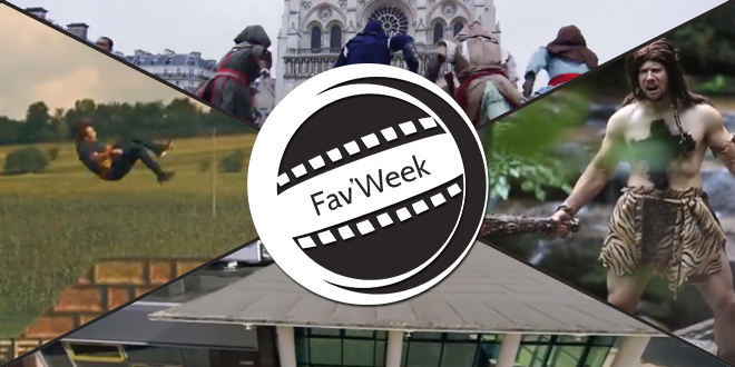Fav'Week : Assassin's Creed & Mirror's Edge Real Life Parkour