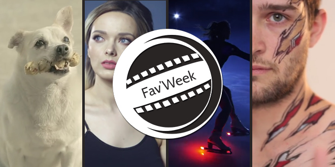 Fav'week #177 : Patinage sur feu, Maquillage bluffant, Chien reconnaissant