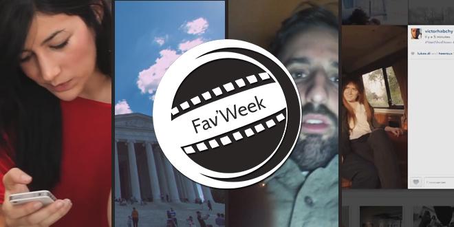 Fav'week #179 : Les gens sont accros à leur smartphone