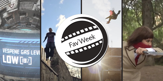 Fav'week #180 : Parkour « Hold on » et Assassin's Creed, Combat Ninja, effets spéciaux Starcraft