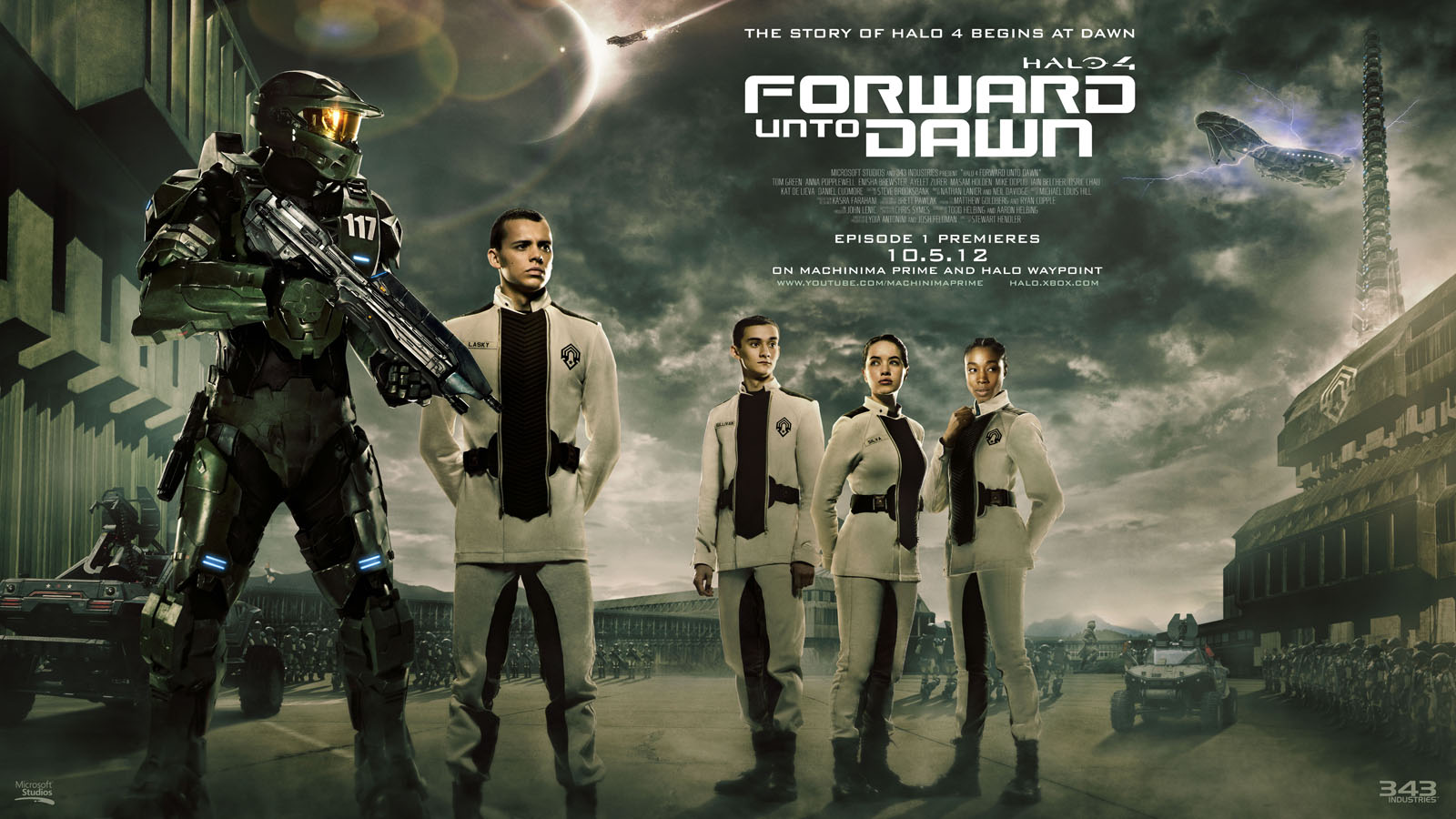 Halo 4 Forward Unto Dawn
