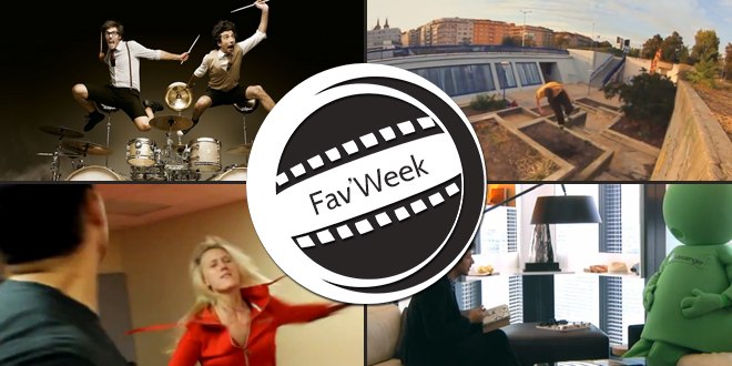 Fav'Week : Fills Monkey, Parkour, Interview MSN, Narayana Cabral