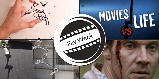 Fav'Week : Movies vs. Life, Maker vs Marker, Cargo, Water & Sound Experiment