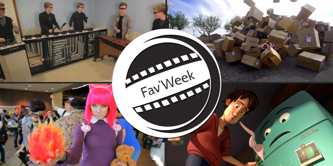 Fav'week : RimbaTubes: Daft Punk Medley , Runaway, Cartons à gogo, Cosplay PAX Prime