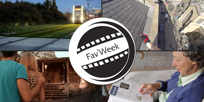 Fav'Week : Mirror's Edge Parkour, Facebook en papier, Tram à Tour, Hell no