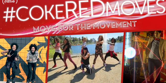 #CokeREDMoves – let's dance !