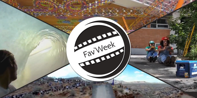 Fav'Week : Backflip Over, Mario Kart IRL, K'nex Ball Machine, Gens formidables 2013