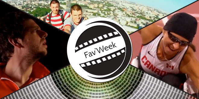 Fav'week : Cybathlon, Friendzone,  Mustang Wanted, Eye – Optical illusion