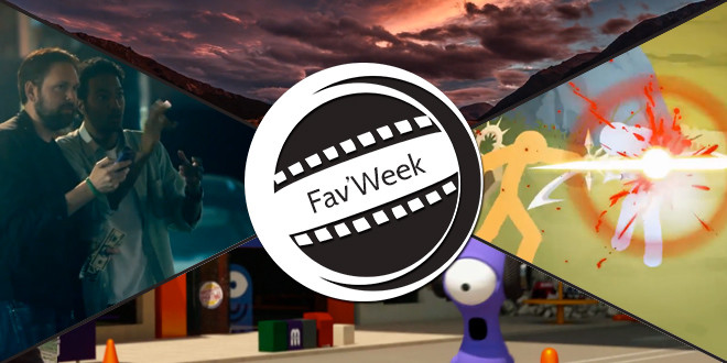 Fav'Week : Street hack,  Stick Figure Spotlight 4, JohnnyExpress, Awakening in NEW ZEALAND