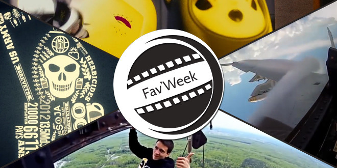 Fav'Week :  Insane Parkour, Whole, Monsanto,  VFA-27's