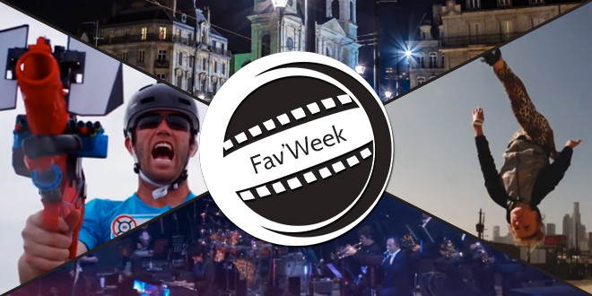 Fav'Week : VESONTIO,  Epic Capture the Flag , Freerunning in LA, Bravely Default