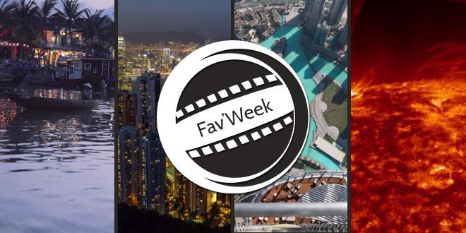 Fav'week #173 : Une balade en ville, de beaux paysages, gros zoom sur le soleil !