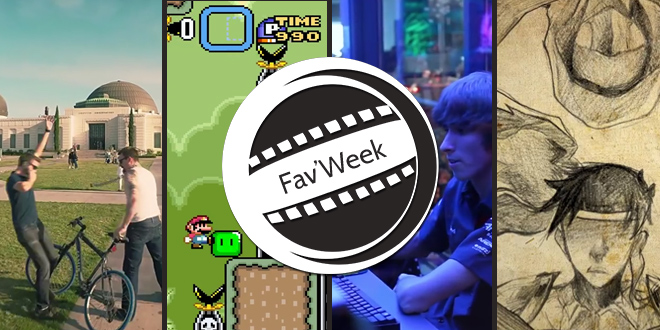 Fav'week #178 : Jeu Aventures, GTA IRL, la vie des pro gamer, Mario Hard mode