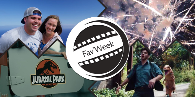 Fav'week #201 : Devin en demande de mariage, en feux d'artifice et en mode parkour dinos