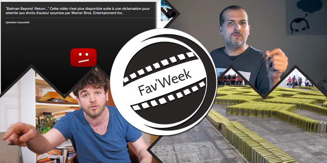 Fav'week #202 : Content ID, Record dominos, manipulation souvenirs et pollution de l'air