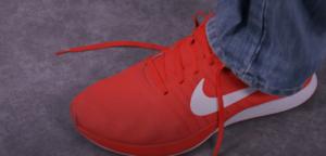 lasser les chaussure